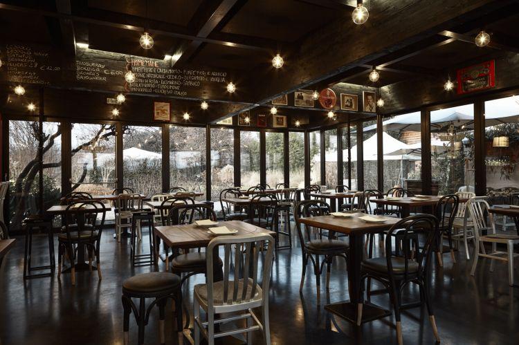La sala del ristorante Nidaba