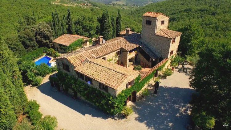 La tenuta di Nittardi, in Toscana