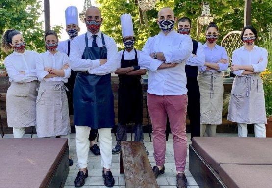 Lo staff dell'Osteria Billis