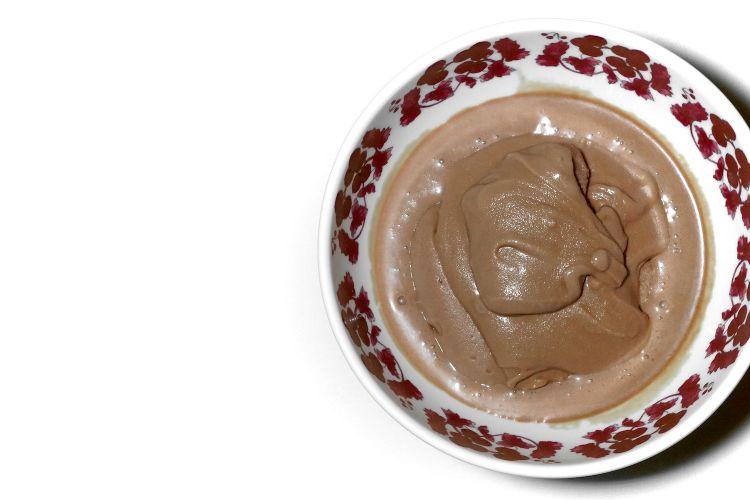 Gelato al cioccolato e whisky Ardbeg 10 anni