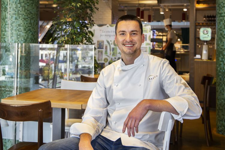 Panero è corporate chef di Eataly