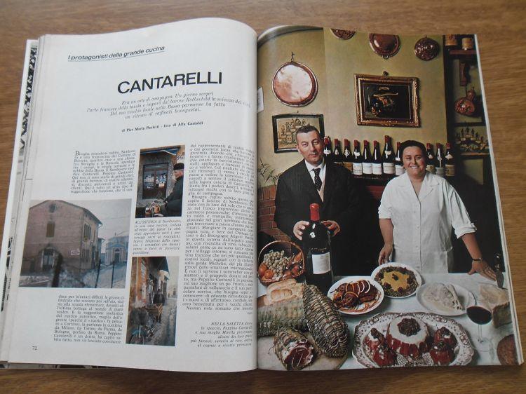 L'articolo uscito su Panorama nel 1966, lo firma Pier Maria Paoletti