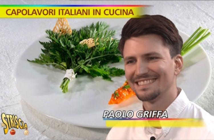 Paolo Griffa in onda a Striscia la notizia