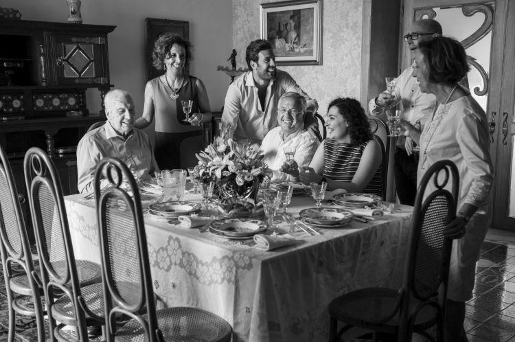 La famiglia, uno dei valori fondamentali diPellegrino