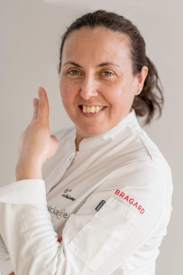 Carmen Vecchione, artigiana e patron della pasticceria Dolciarte di Avellino (foto a cura di Massimo De Rosa)