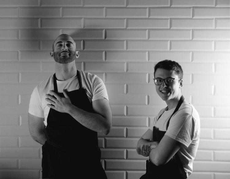 Andrea Baita e Pietro Zamuner, chef di Bites