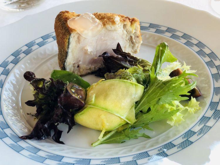 Cracco Portofino: cotoletta di pesce spada