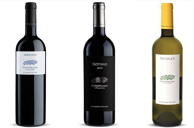 Argirio, Sotirio e Nicoleo, i tre vini degustati
