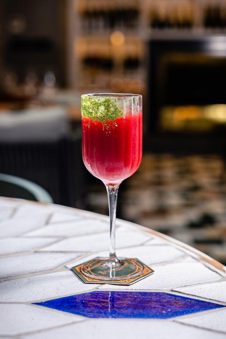 Il cocktail firmato da Carlo Simbula per Bioesserì