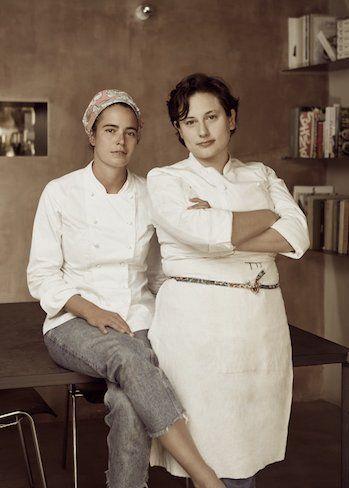Le chef Sara Nicolosi e Cinzia De Lauri