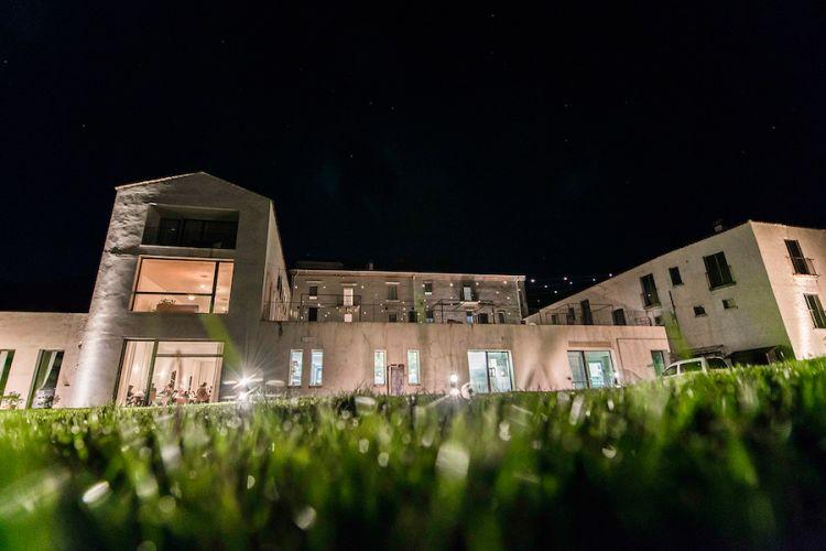 Casadonna dopo il tramonto. Foto Francesco Fioramonti