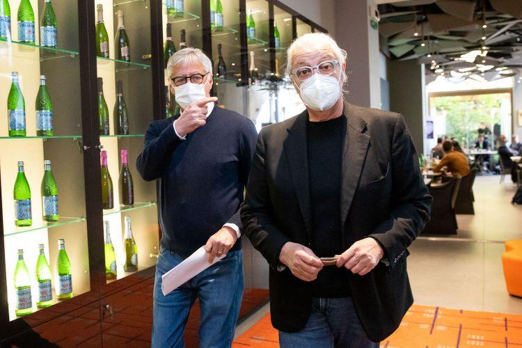 Massimo Tomagnini e Davide Rampello