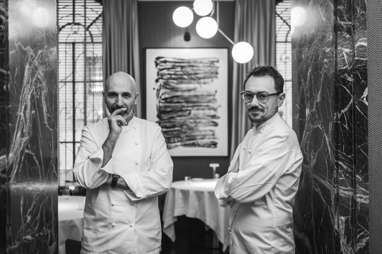 Andrea Ribaldone e Federico Sgorbini nella foto di Stefano Borghesi
