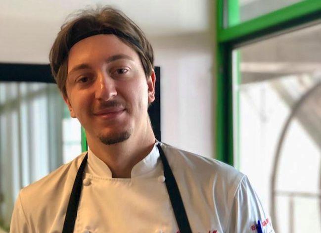 Lo chef Giovanni Ricciardella, patron di Cascina Vittoria