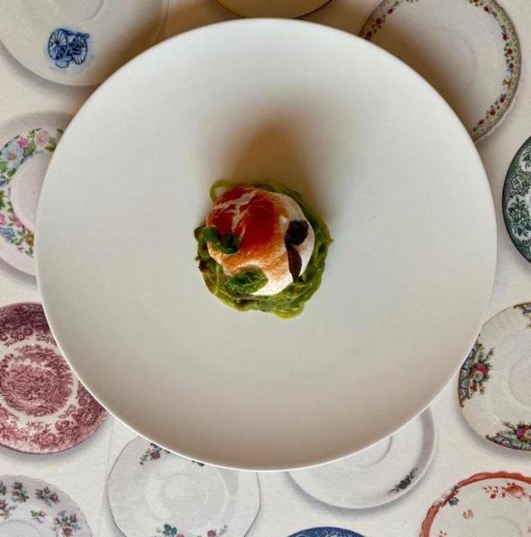 Il piatto Rinasci Italia di Pietro Penna