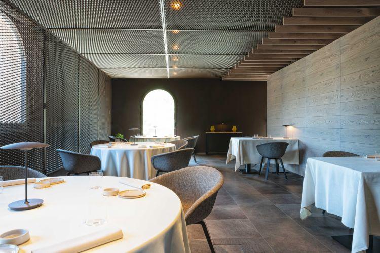 L'interno del ristorante Vitique