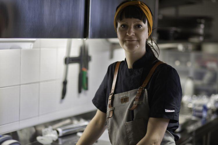 Anna Barbina, chef e proprietaria di AB Osteria Contemporanea