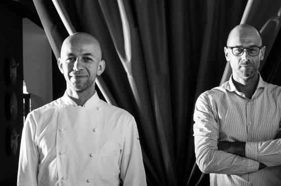 Riccardo e Giancarlo Camanini(fotoristorantelido84.com)