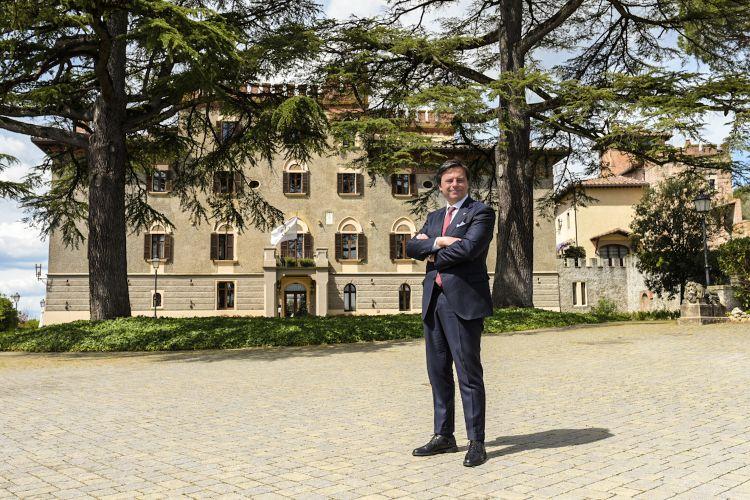 Il general manager e maître de maison Giorgio Mereu