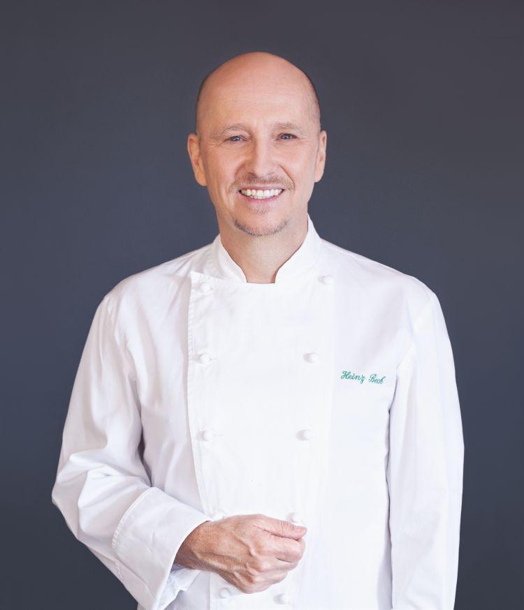 Heinz Beck, chef del ristorante La Pergola dell'hote Rome Cavalieri