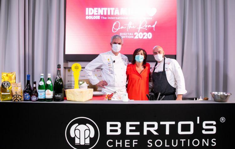 Pietro Leemann, Lisa Casali e Sauro Ricci