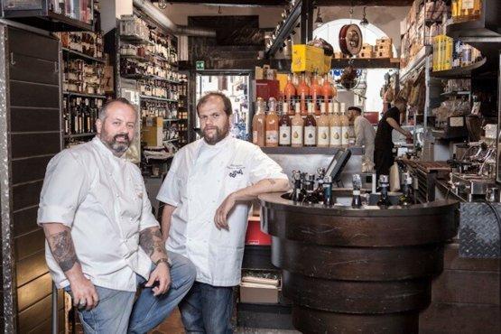 Pierluigi e Alessandro Roscioli