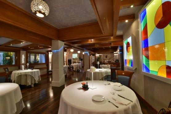 La sala del ristorante Aldo Moro