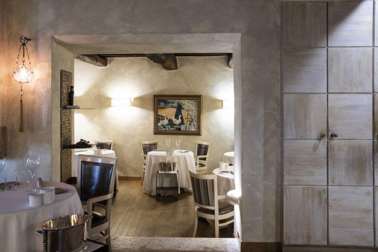 Il ristorante Caino di Montemerano