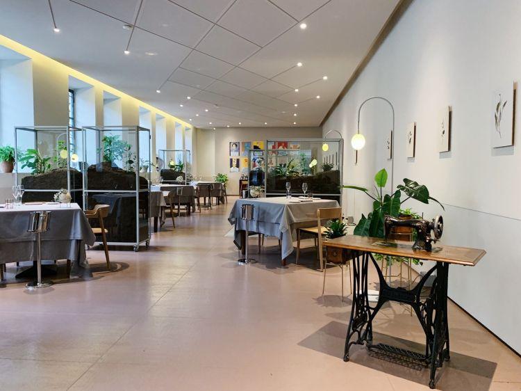 La sala del ristorante Daniel Canzian