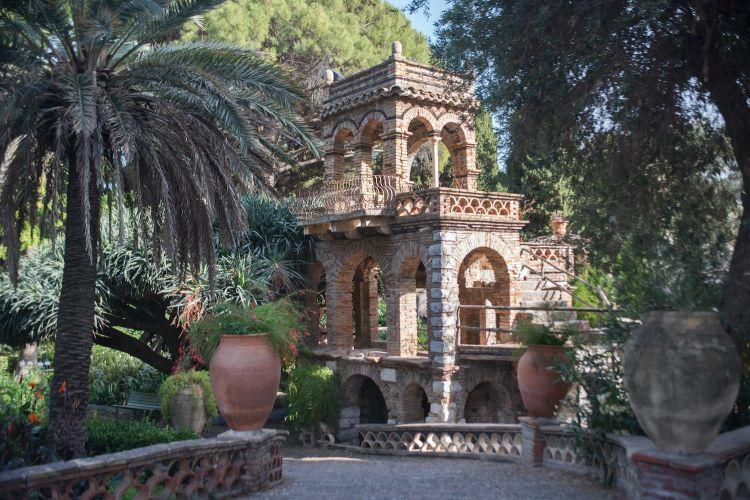 Uno scorcio del San Domenico Palace