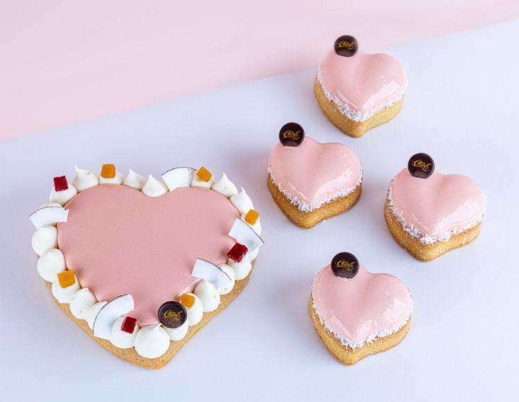 Le torte preparate per San Valentino