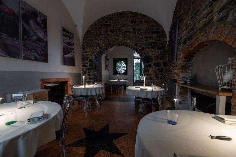 La sala del ristorante Feel