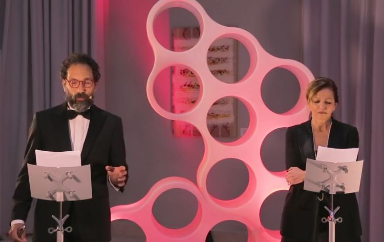 Federico Quaranta e Cinzia Benzi