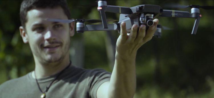 Per realizzare i video sono stati utilizzati anche dei droni