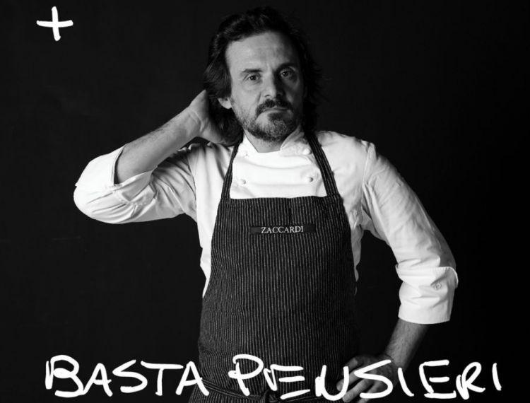 Lo chef Antonio Zaccardidel ristorante Pashà di Conversano  (Foto dal profilo Instagram @diariozaccardi)
