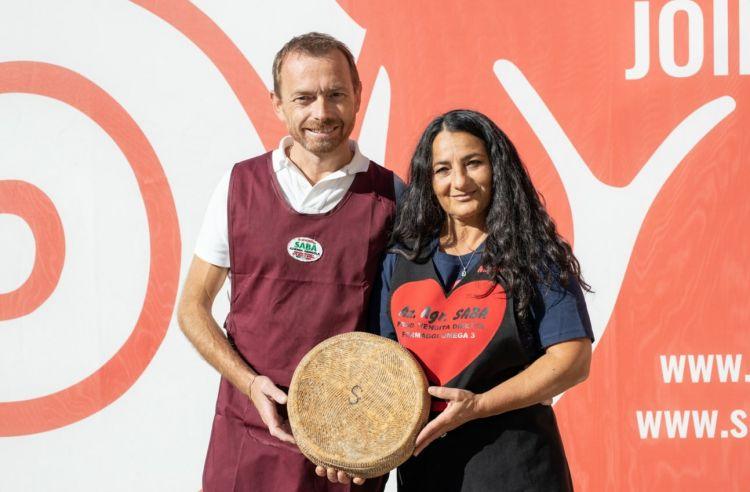 Angela Saba e Claudio Seghi, Pecorino a latte crudo della Maremma. Foto a cura di Paolo Properzi