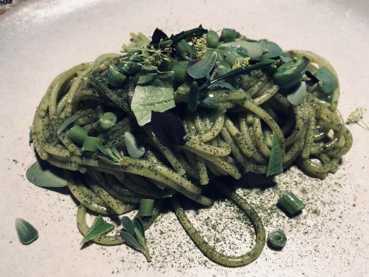 Lo Spaghettone in verde di Carlo Sebastiani