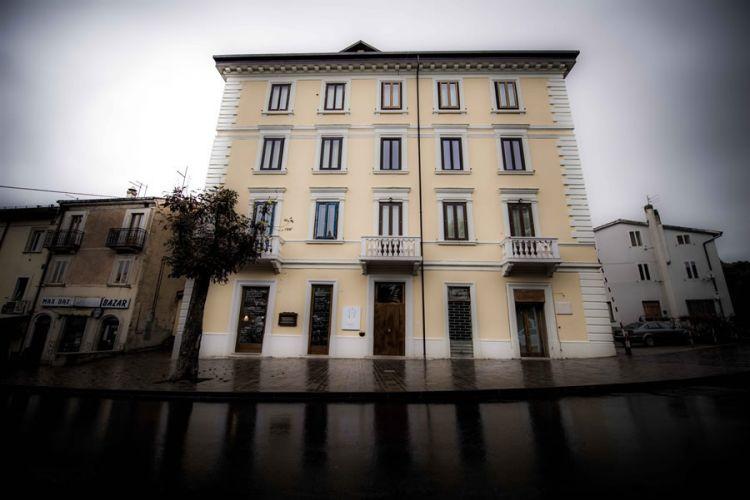 Il ristorante Spazio a Rivisondoli. Da quando Niko Romito ha trasferito il Reale a Castel di Sangro, ha preso il posto del primo Reale