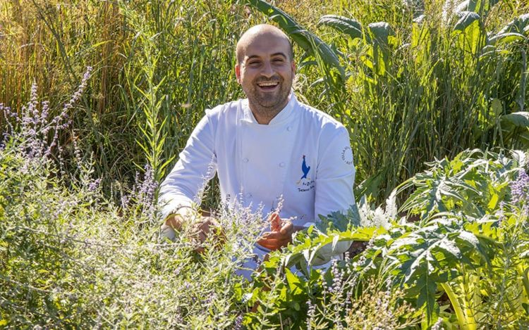Thomas Papa, dal 2019 al timone del ristoranteLa Gallina,Gavi (Alessandria)