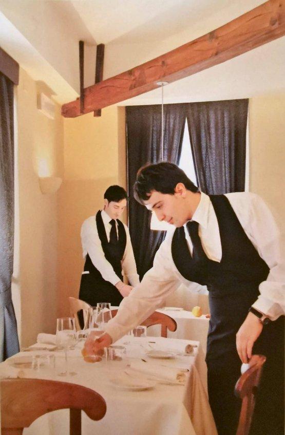 Altra foto storica, anno 2004: Sinesi sempre a sinistra, in sala con Tomas Torsiello
