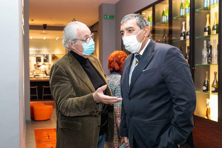 Davide Rampello con Ceroni