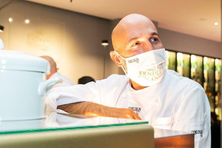 Andrea Ribaldone, coordinatore dell'offerta gastronomica di Identità Golose Milano
