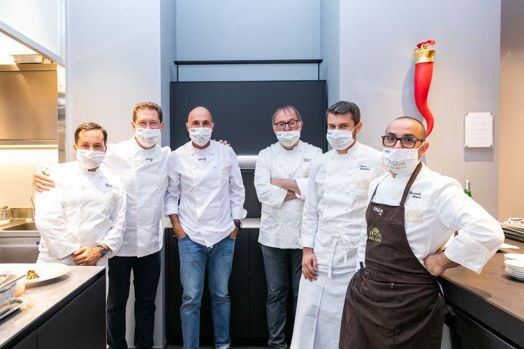 Della Tommasina, Cerea, Ribaldone, Niederkofler, Bartolini e Monco al pass di Identità Golose Milano