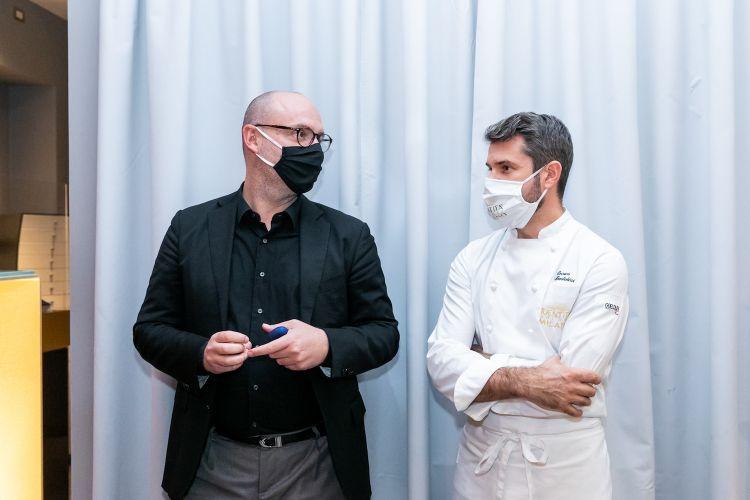 Carlo Passera ed Enrico Bartolini