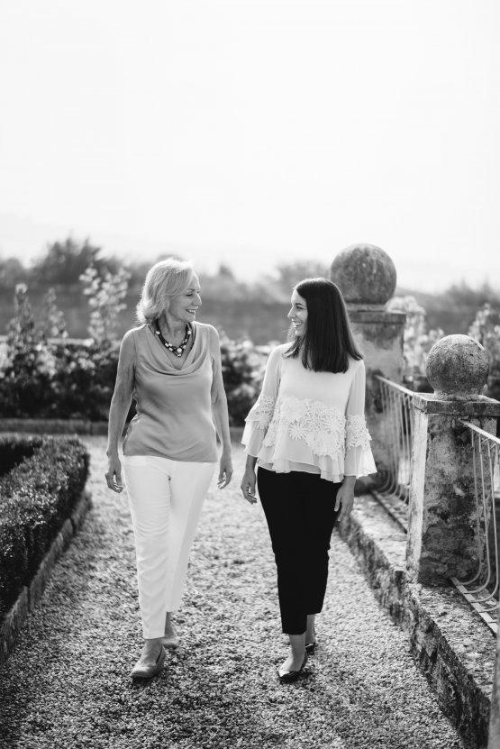 Caterina Mastella Allegrini con la mamma Marilisa