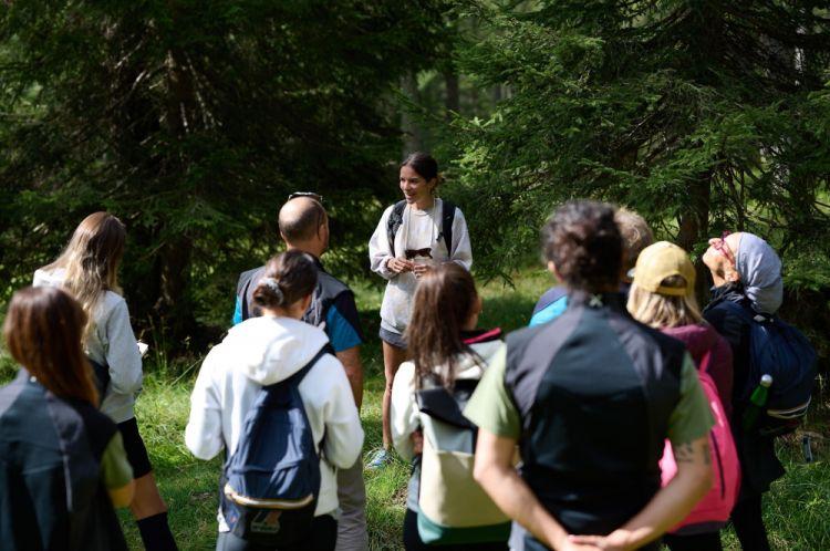 ...e i partecipanti al workshopdi foraging