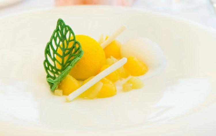 Variazione di limone e zenzero