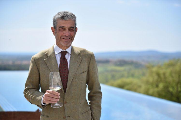 Il presidente del Consorzio Tutela Vini della Maremma, Francesco Mazzei