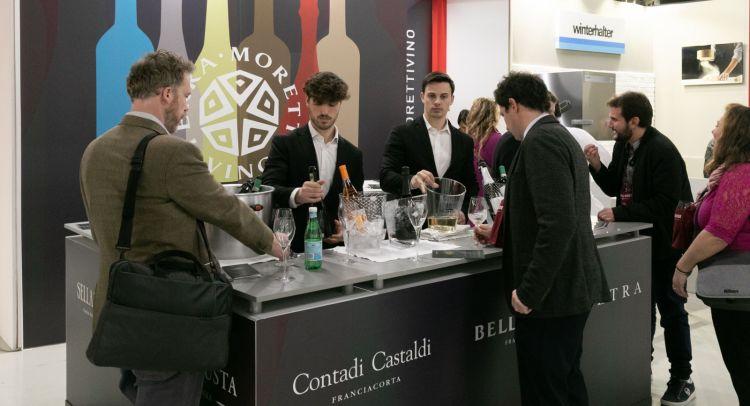 Sarà presente il Gruppo Terra Moretti Vino, in particolare con Contadi Castaldi