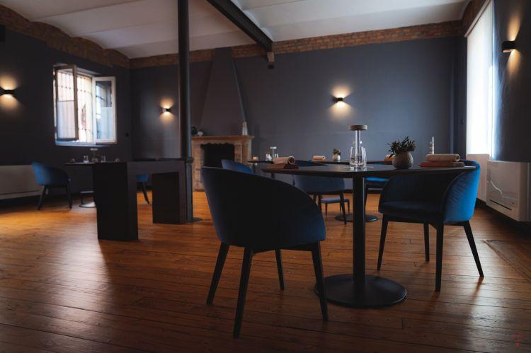 La sala del ristorante Vitium